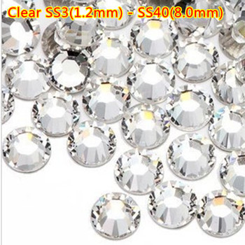 Beautiful Nail Crystals Rhinestones Nail Art Jewelry Crystal Diamonds Nail Decoration Supplier for Salon Use